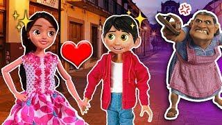 Miguel de COCO se ENAMORA de la NIETA de ERNESTO de la Cruz! 😱 Amor Imposible 💔 Juguetes Fantásticos