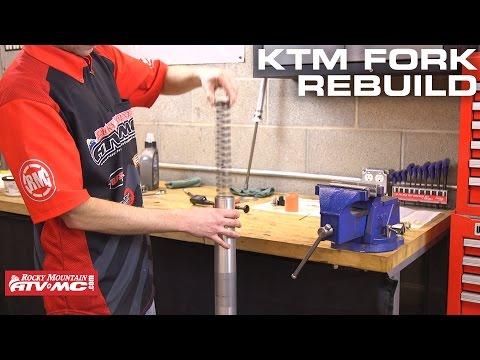 How To Rebuild KTM/Husqvarna WP Bladder Style Forks