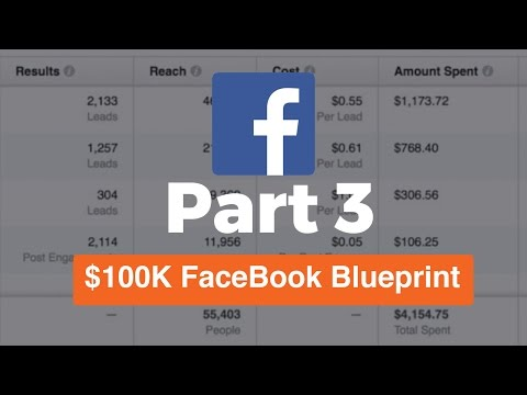 (Part 3) 100K FaceBook Ads Blueprint | Using The Power Editor and Creating An 6 Figure Ad