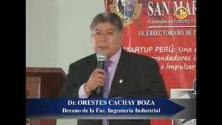 UNMSM recibió emprendedores interesados en participar en el programa Startup Perú