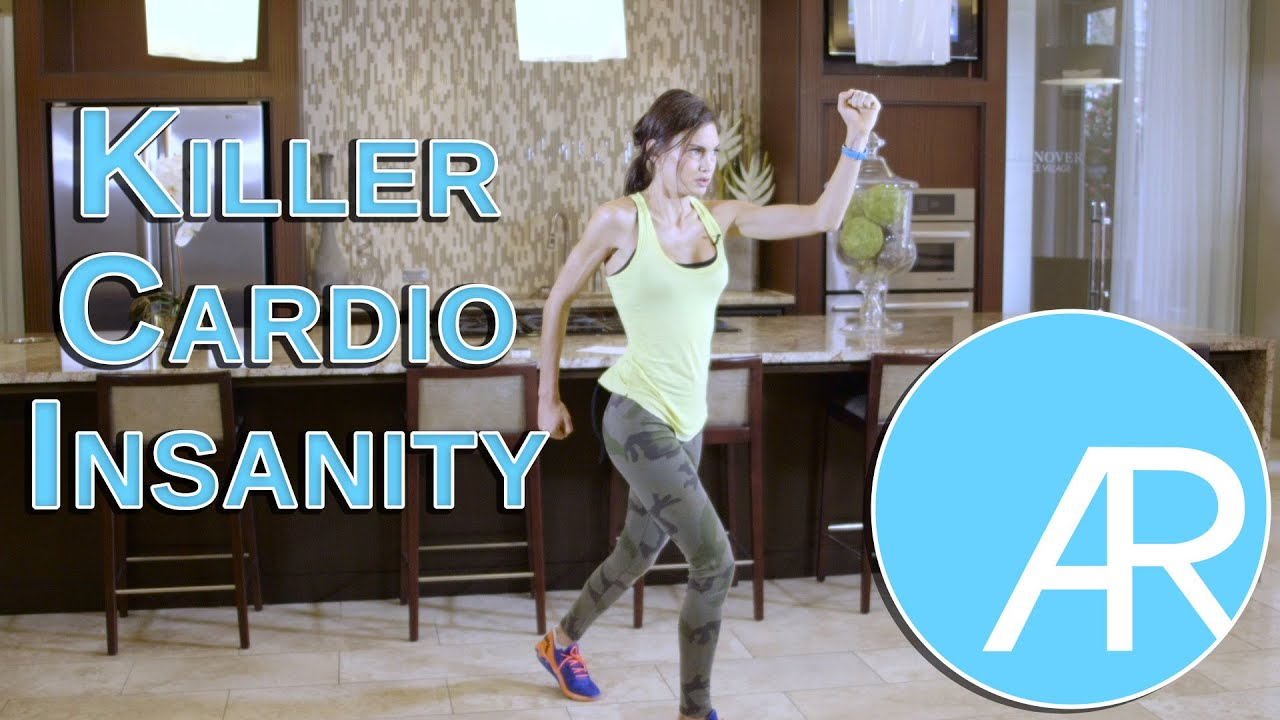 Killer Cardio Insanity Workout!!! MAX Out in 10 Min! - YouTube