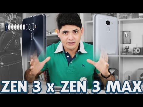 Comparativo entre ASUS Zenfone 3 x Zenfone 3 MAX 5.5 (BRASIL)