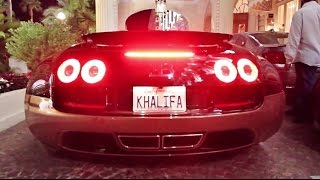 "$3 Million Bugatti Veyron Rembrandt ""Khalifa"" -  MOST EXPENSIVE Veyron!"
