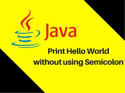 5.4-java-trick-|-print-hello-world-without-using-semicolon