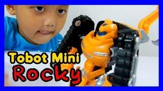 Mainan Tobot Mini Rocky Excavator - Satria Fun n Play