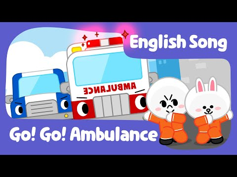 [Brown TV] Go!Go! Ambulance | Ambulance Song | Nursery Rhymes | Line Friends Kids Song