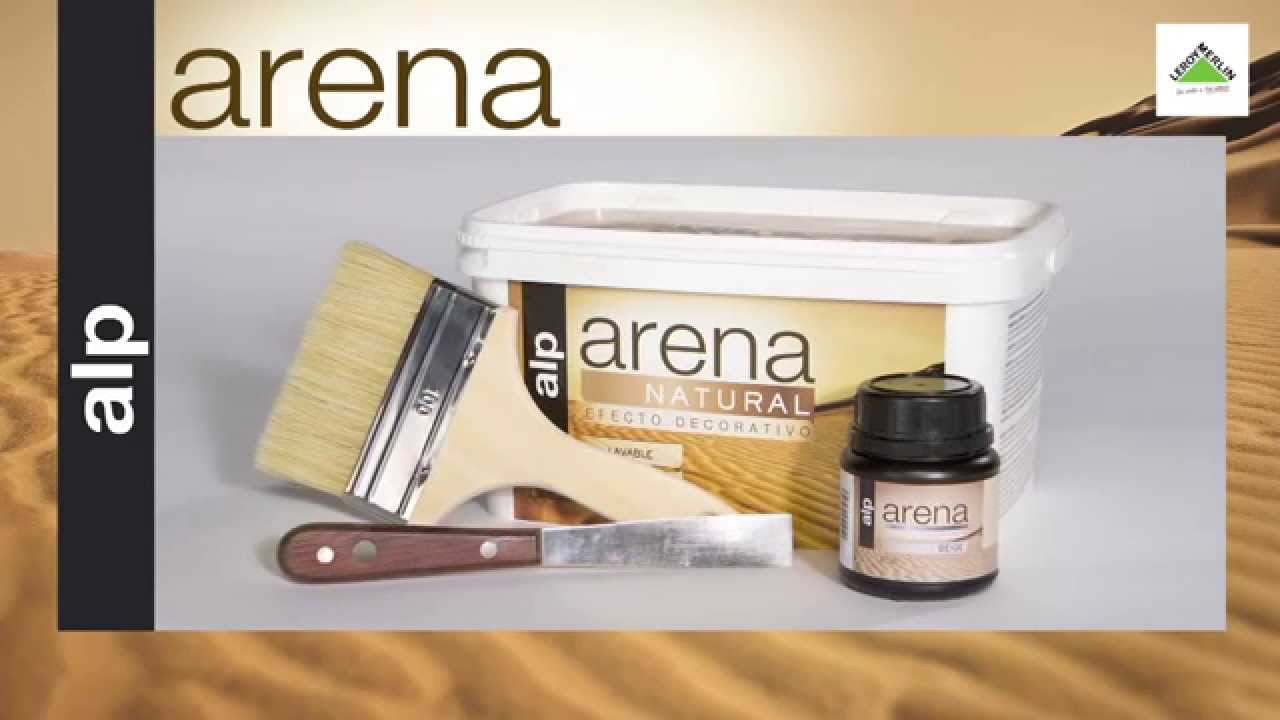 Pintura de efectos arena youtube for Pintura color arena paredes