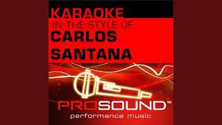 Maria Maria (Karaoke Instrumental Track) (In the style of Carlos Santana and Product GandB)