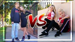 Battle Couple-Piper and Walker VS Coco and Gavin !