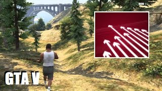 Following the LIT PATH of the Jetpack (GTA 5 Mystery)