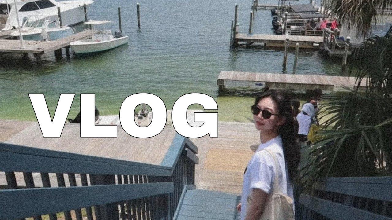 [VLOG]미국브이로그|미국유학생일상|🇺🇸 미국에서 주말 보내는 법|미국장보기|샘스클럽|플로리다바다|FATHER'S DAY|