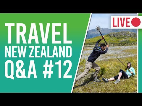 New Zealand Travel Questions - Learn English in NZ + New Zealand Ski Season + Weather in March