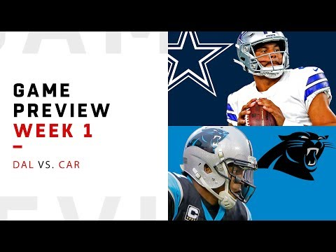 Dallas Cowboys Vs. Carolina Panthers | Week 1 Game Preview | NFL Film Review