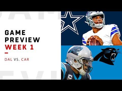 Dallas Cowboys vs. Carolina Panthers | Week 1 Game Preview | NFL Film Review