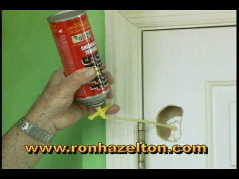 How to Patch a Hole in a Hollow Core Door