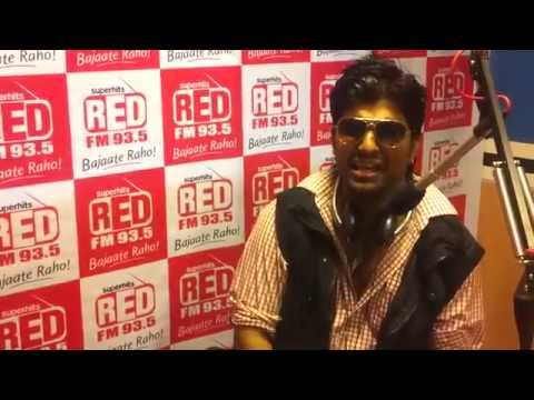 Hookah Bar Unplugged - AMAN TRIKHA LIVE @ 93.5 RED FM Studios Mumbai -