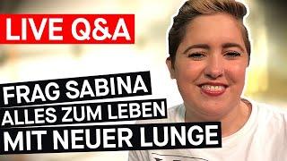 LIVE Q&A - Organspende: Sabina hatte eine Lungentransplantation || PULS REPORTAGE