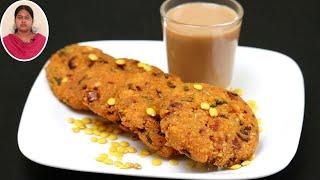 1 கப் துவரம்பருப்பு இருந்தா மசால் வடை செஞ்சி பாருங்க | Snacks Recipes in Tamil | Toor Dal Vada