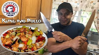 Deliciosa comida China.  Kung Pao pollo 🐓 Parte #1