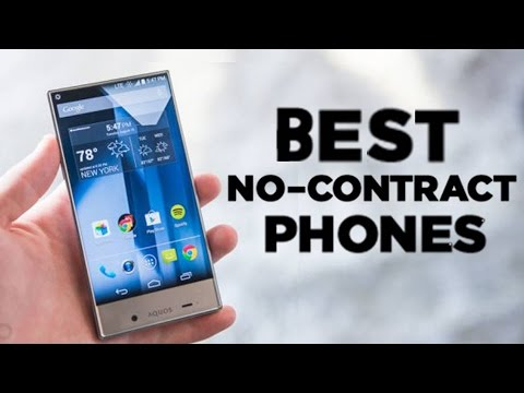 Top 5: Best No-Contract Phones (2015)