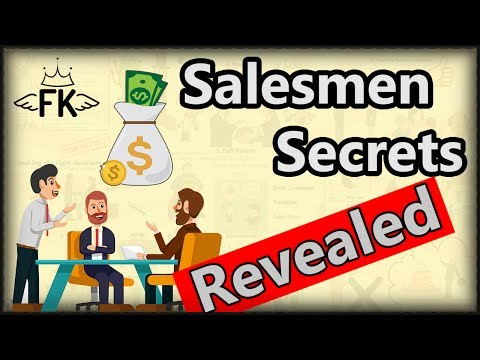 SALES Secrets Revealed - Top 7 Salesmen Techniques