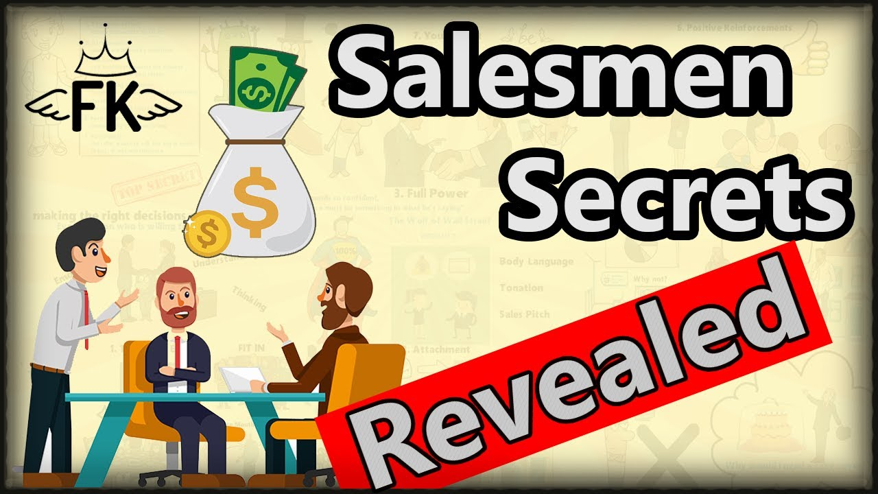 7 secrets of successful sales