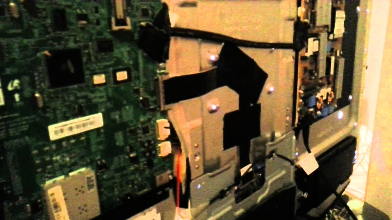 Fault on Samsung LED TV UE40D5520 FIXED - YouTube
