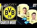 RAMSEY FOR REUS?!! CRAZY SWAP DEAL TRANSFER!!🤣 - FIFA 21 Dortmund Career Mode EP7