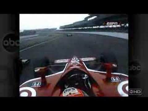 Danica & Dan in Indy 500 2007