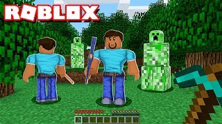 THE BEST MINECRAFT IN ROBLOX