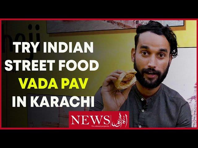 Try Indian Street Food Vada Pav In Karachi