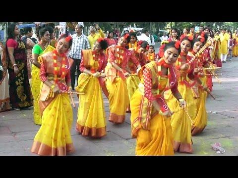 Basanta utsav 2017 at Chandannagar West Bengal India.