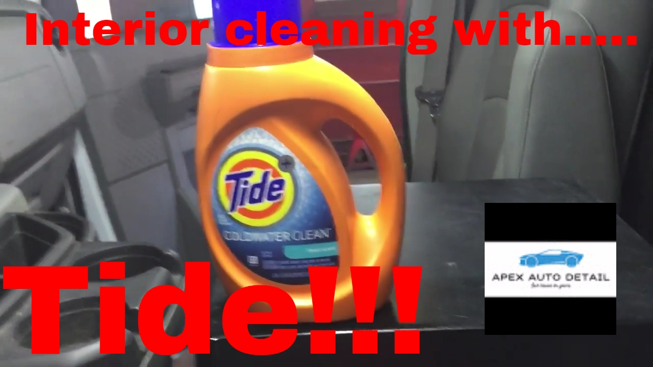 tips and tricks on how to clean the interior of your truck or car with tide youtube. Black Bedroom Furniture Sets. Home Design Ideas