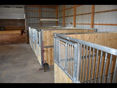 Installing Best Ramm Portable Panel Horse Stalls