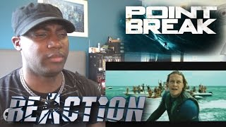 Point Break Official Trailer #2 (2015) - Teresa Palmer, Luke Bracey - REACTION!