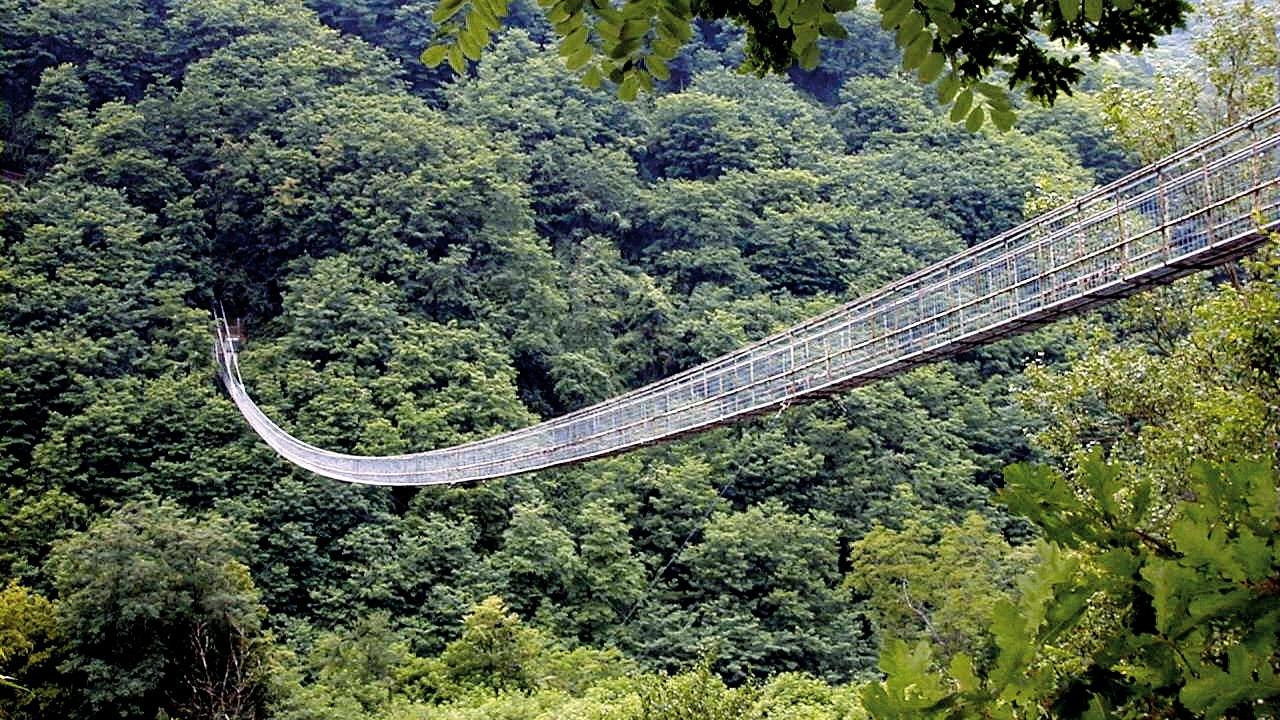 Il ponte sospeso più lungo del mondo è a San Marcello Pistoiese