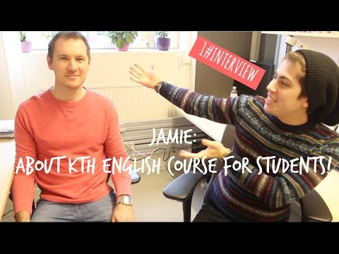 1#INTERVIEW: Jamie talks about the English course for International Students!