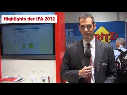 AVM-Premieren der IFA 2012