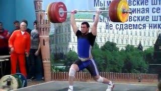 Кубок Москвы по тяжелой атлетике 2015 (в.к.до 94)