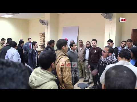 رصد | طلاب أزهر القاهرة من داخل كلية الدعوة بالأمس