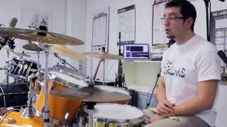 Toto - Rosanna - Drum Lesson By Italo Graziana (Ita)
