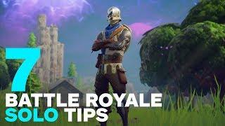 7 Best Fortnite Solo Tips for Battle Royale