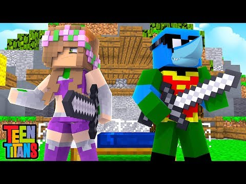 BECOMING THE TEEN TITANS! | Minecraft Little Kelly | Bedwars thumbnail