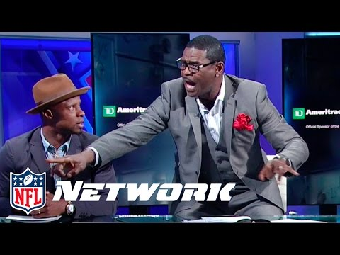 Michael Irvin Makes Passionate Case for Luke Kuechly over J.J. Watt | Top 100 Reaction
