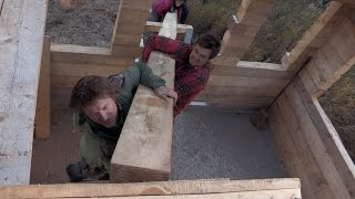 How to Build A Cabin By Hand | Alaska: The Last Frontier