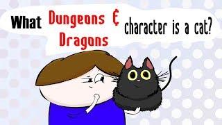 Machen Sie Ein D&D Charakter Für Eine Katze