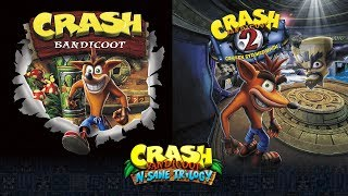 Crash Bandicoot N. Sane Trilogy | Crash Bandicoot 1 & 2 Remade Cover Designs + New Crash Merchandise