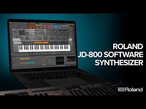 Roland JD-800 Software Synthesizer Overview | Vintage Digital Icon Now on Roland Cloud