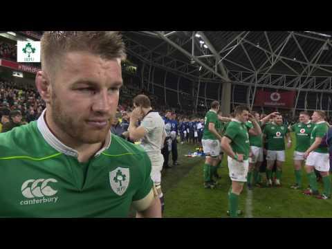 Irish Rugby TV: Sean O'Brien Savours Ireland's Winning Finish