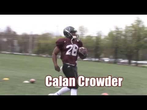 Football Senior Spotlight: Calan Crowder